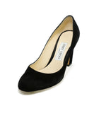 Jimmy Choo Heels US 6.5 Black Suede Shoes 1