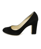 Jimmy Choo Heels US 6.5 Black Suede Shoes 2