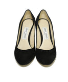 Jimmy Choo Heels US 6.5 Black Suede Shoes 4
