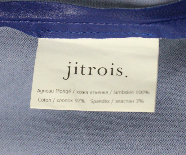 Jitrois Blue Leather Dress 4