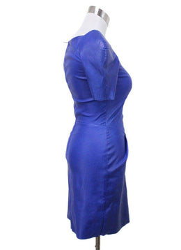Jitrois Blue Leather Dress 1