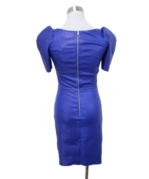 Jitrois Blue Leather Dress 2