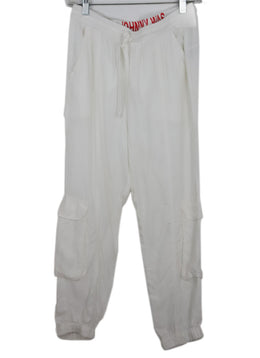 Johnny Was White Rayon Cargo Pants 2