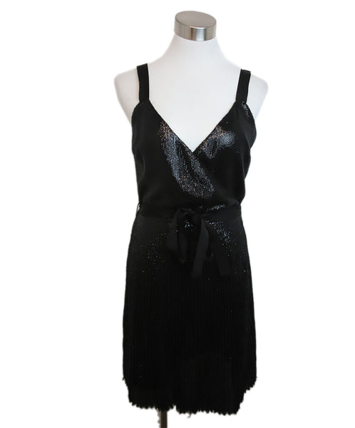 Joie Black Sequins Dress 1