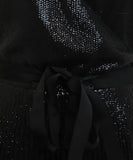 Joie Black Sequins Dress 5