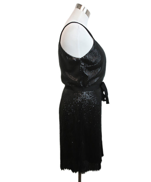 Joie Black Sequins Dress 2