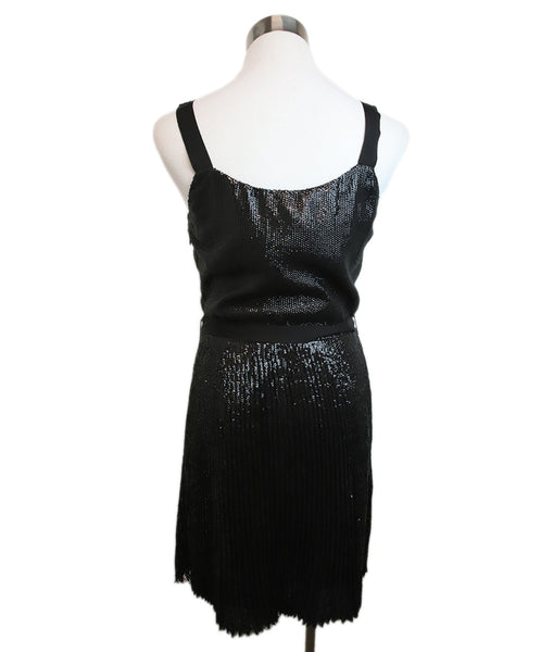 Joie Black Sequins Dress 3