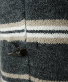 Joie Grey Beige White Wool Sweater 6
