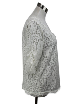 Joie White Lace Top Size 6