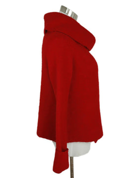 Joie Red Acrylic Polyester Wool Sweater 3