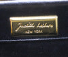 Judith Leiber Black Alligator Leather with Swarovski Cyrstal Top Handle Clutch 9