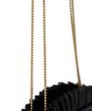 Gold Hardware Judith Leiber Black Lizard