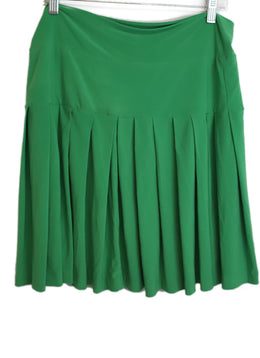 Kamali Kulture Green Viscose Skirt 1