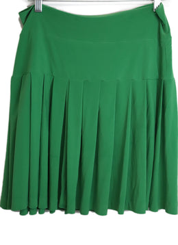 Kamali Kulture Green Viscose Skirt 2
