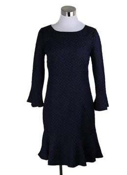 Karl Lagerfeld Navy Polyester Dress