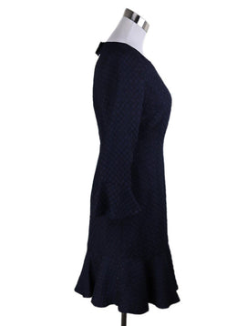 Karl Lagerfeld Navy Polyester Dress 1