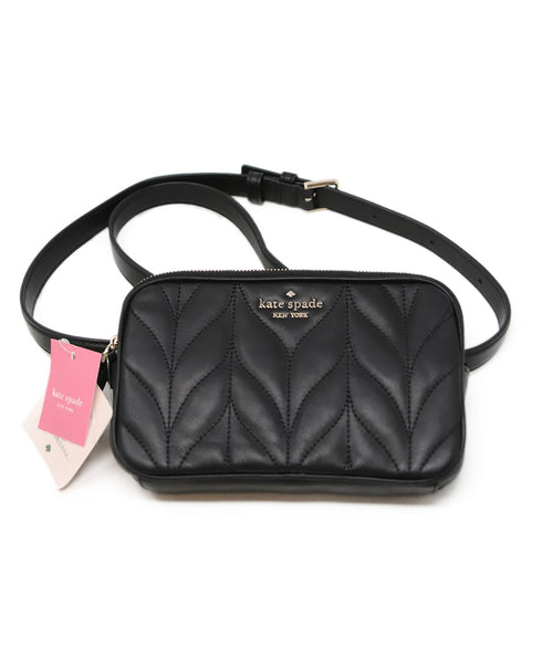 Kate Spade Black Leather Fannypack 1