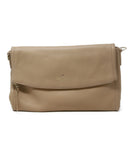 Kate Spade Neutral Beige Leather Crossbody 1