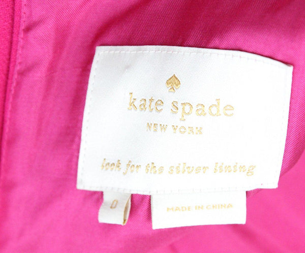 Kate Spade Fuchsia Polyester Dress 4