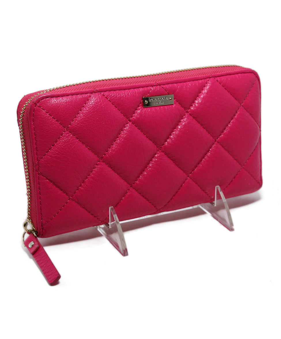 Kate Spade Pink Leather Wallet 2