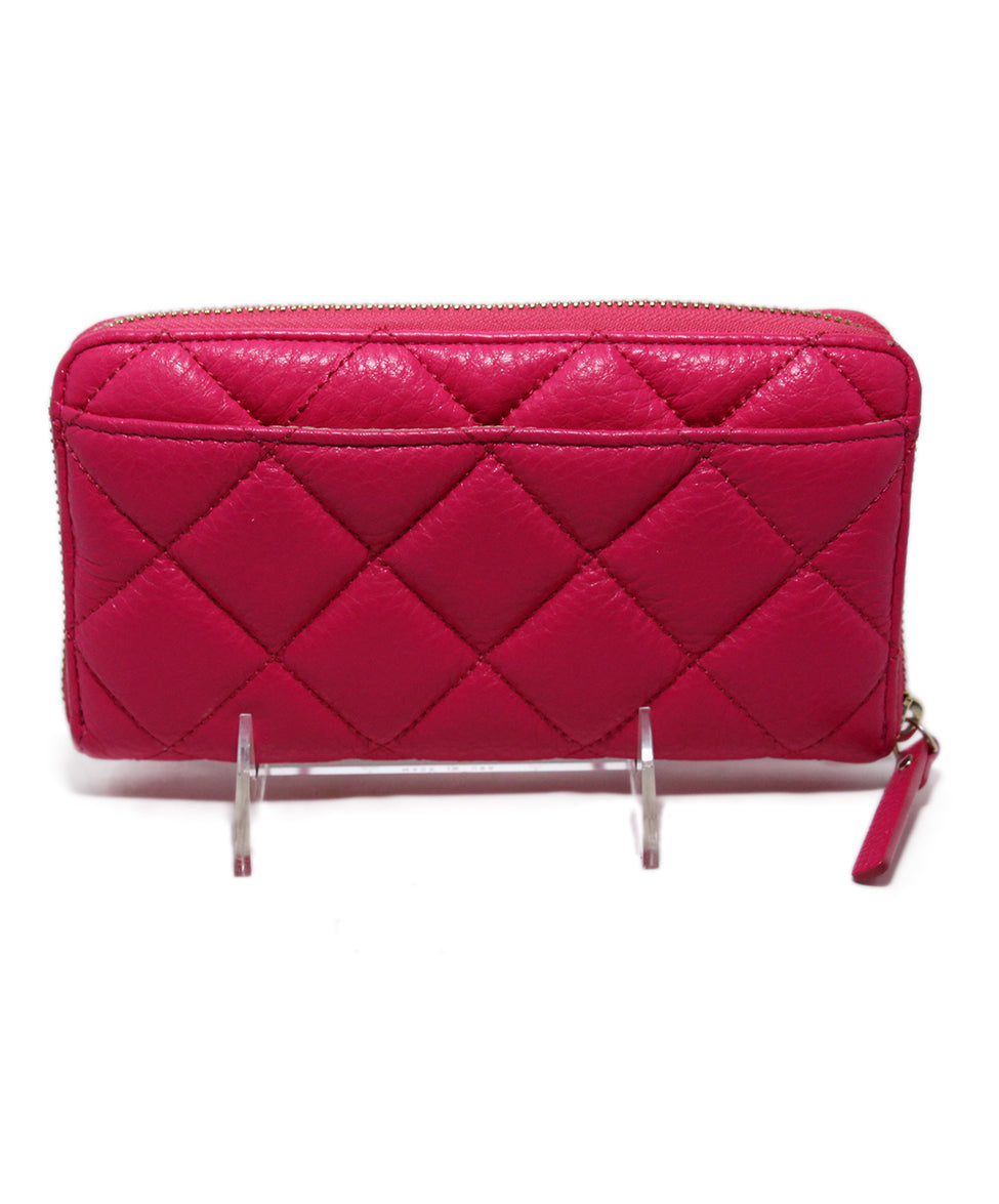 Kate Spade Pink Leather Wallet 3