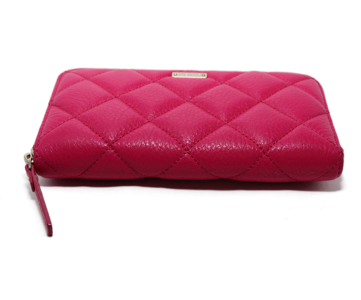Kate Spade Pink Leather Wallet 4