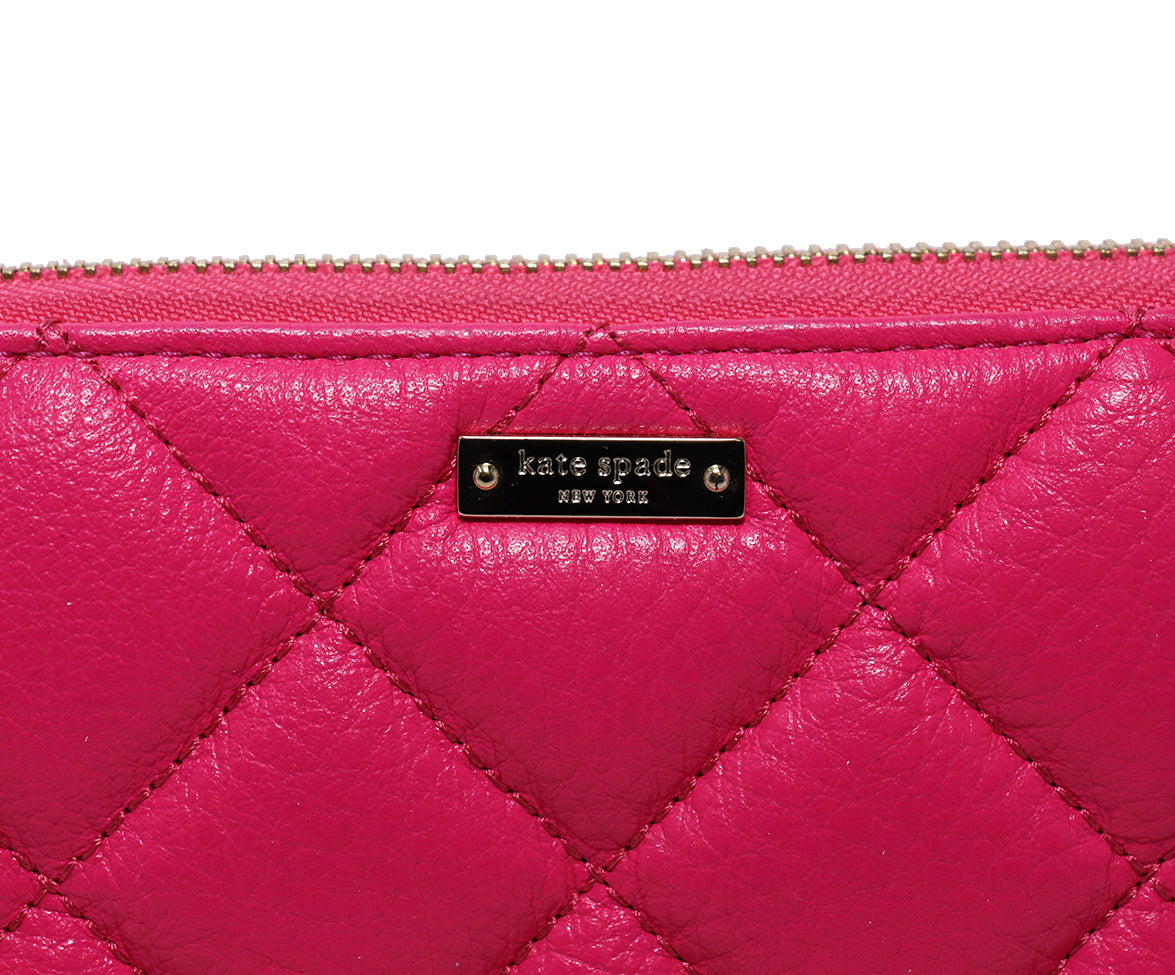 Kate Spade Pink Leather Wallet 6
