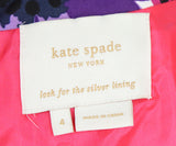 Kate Spade Purple Pink Cotton Floral Dress 4