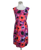 Kate Spade Purple Pink Cotton Floral Dress 1