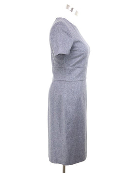 Kiton Grey Wool Cashmere Dress Sz 4