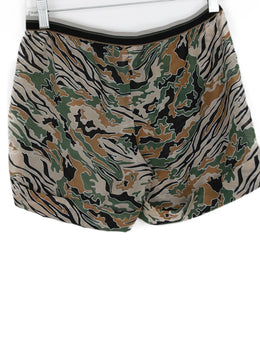 La Perla Green Black Brown Cotton Beachwear Shorts 2