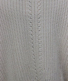 La Ligne Ivory Cotton Sweater Sz 12