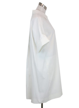Lafayette White Cotton Dress 1