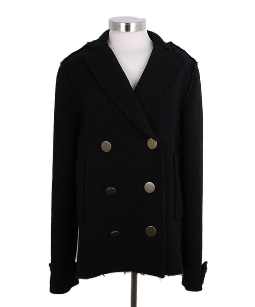 Lanvin Black Wool Jacket 1