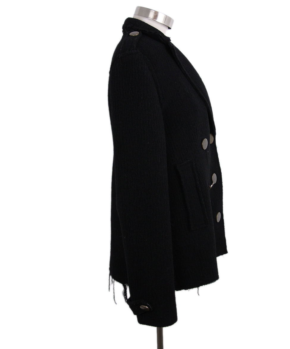 Lanvin Black Wool Jacket 2
