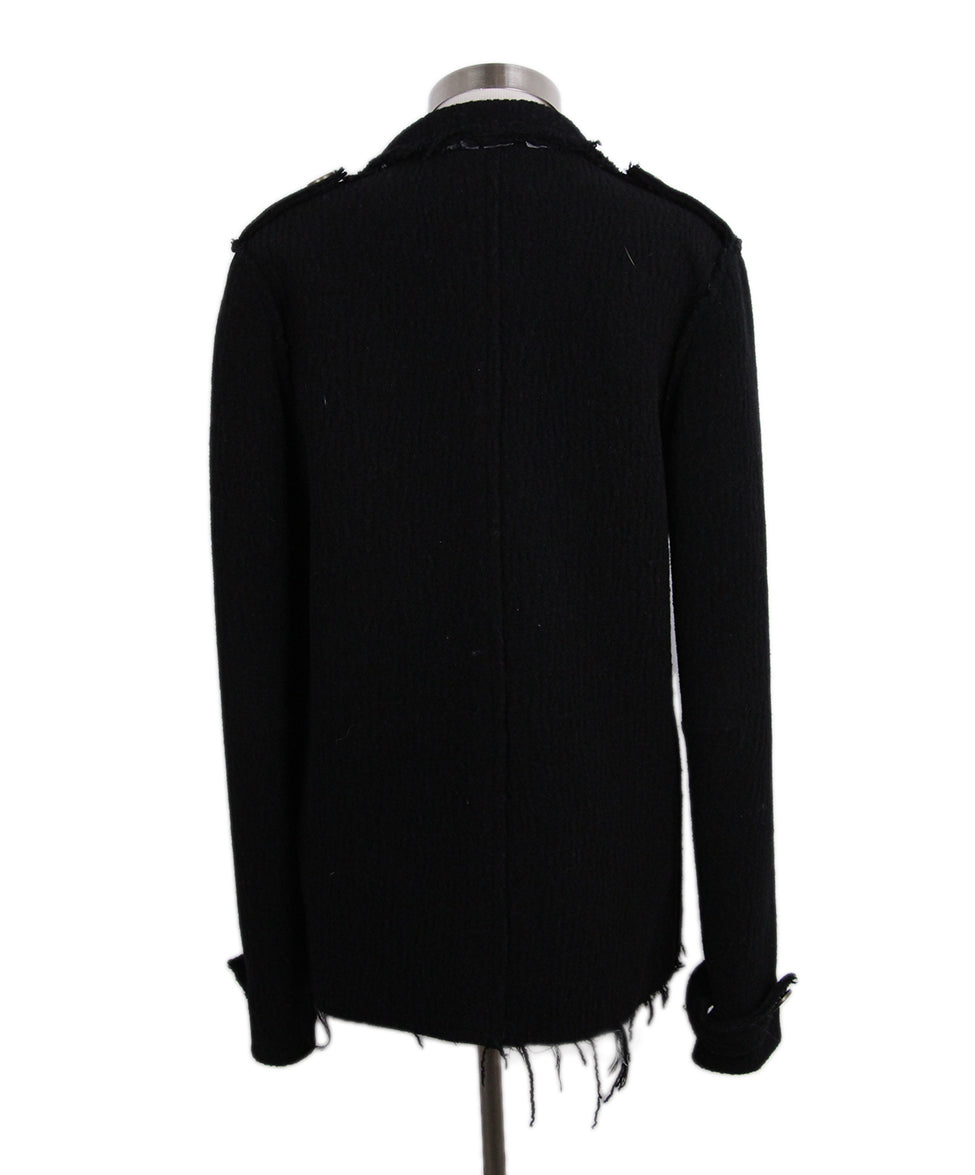 Lanvin Black Wool Jacket 3