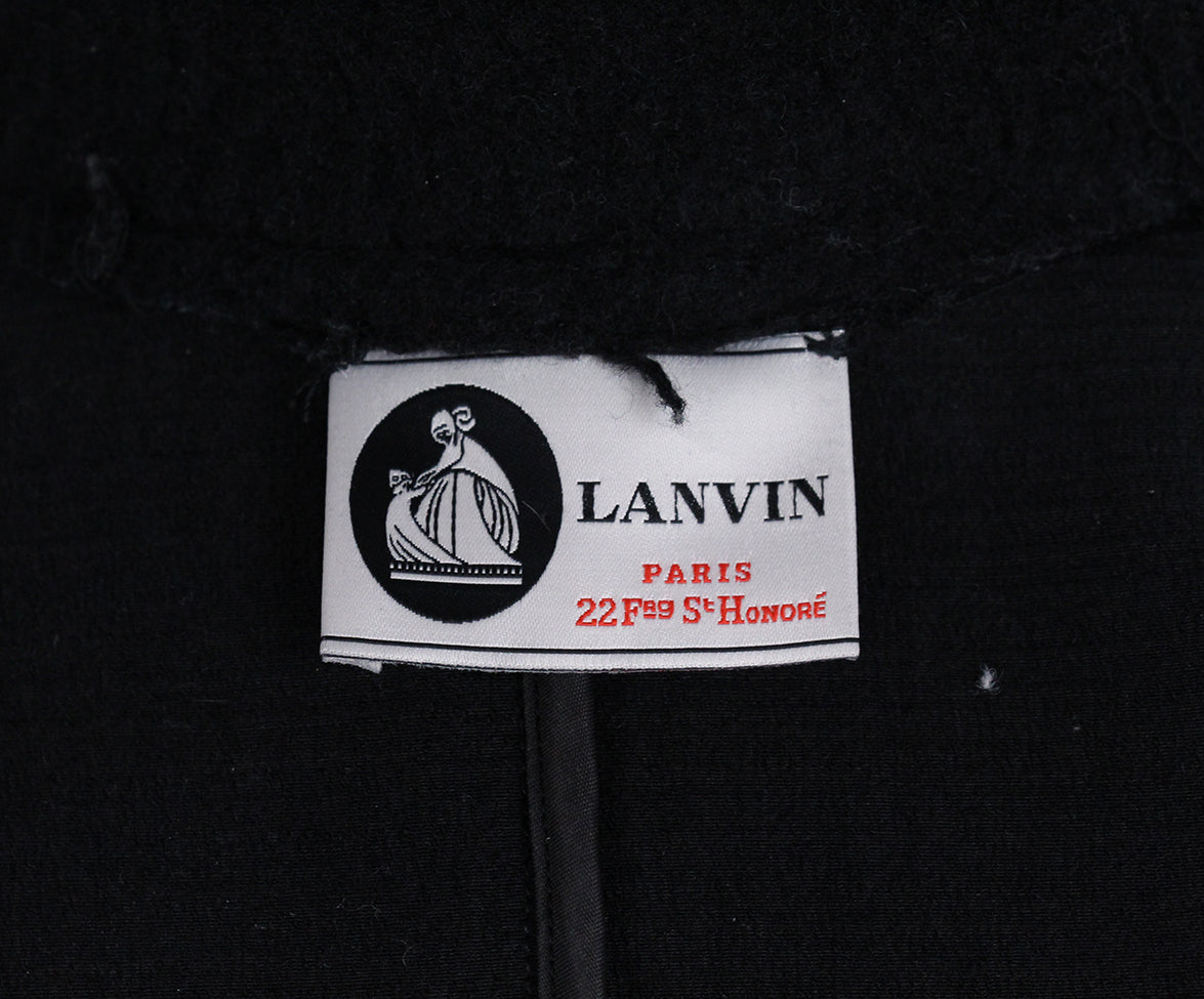 Lanvin Black Wool Jacket 4