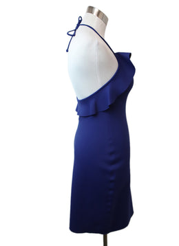 Lanvin Blue Royal Polyamide Elastane Dress 2
