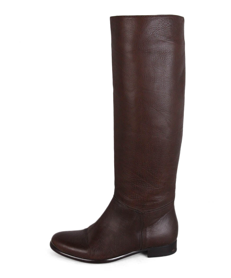 Lanvin Brown Leather Boots 2