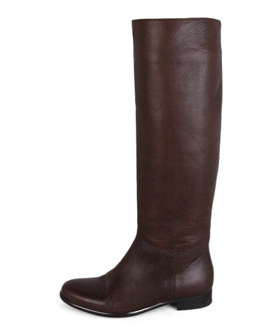 Lanvin Brown Leather Boots 1