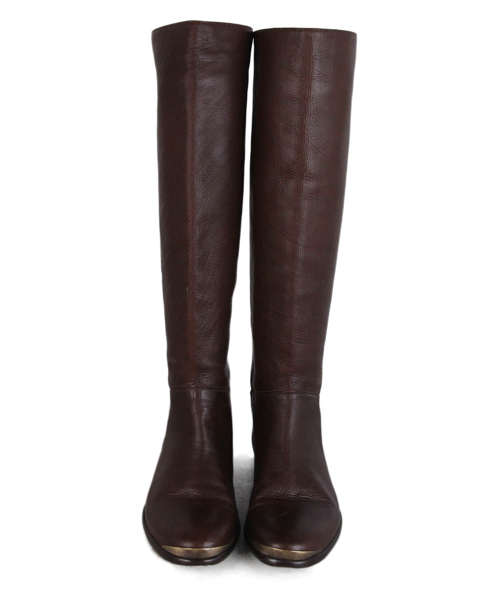 Lanvin Brown Leather Boots 4