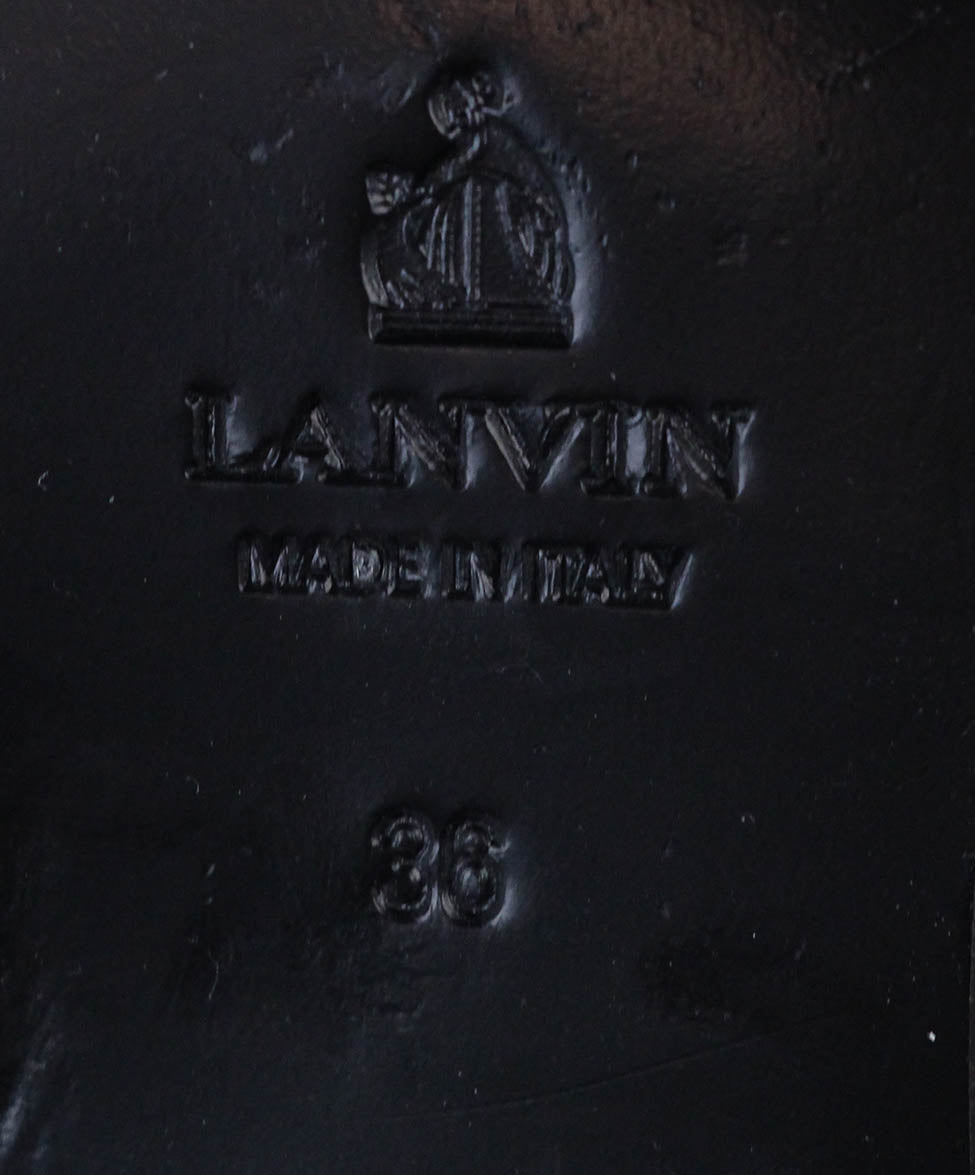 Lanvin Brown Leather Boots 6