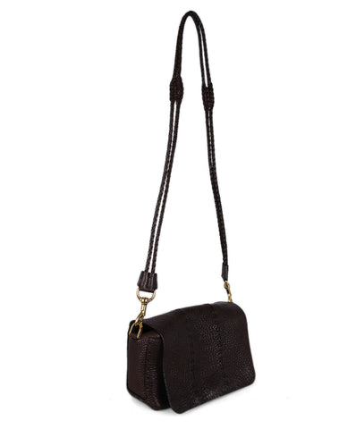Lanvin Brown Leather Crossbody 1