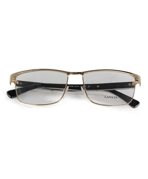 Lanvin Gold Metal Frames Sunglasses 1
