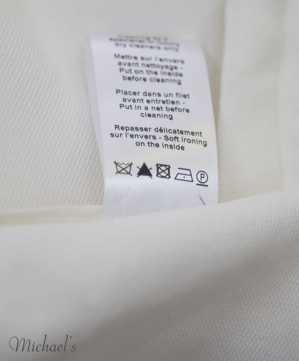 Lanvin Ivory Viscose Jacket Sz 6 - Michael's Consignment NYC  - 8