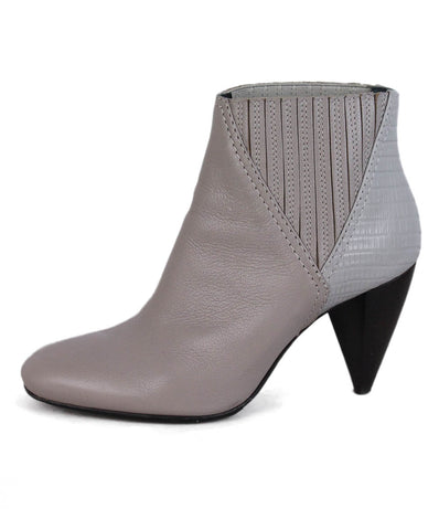 Lanvin Taupe Leather Booties 1