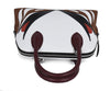 Lanvin White Red Black Burgundy Handbag 5