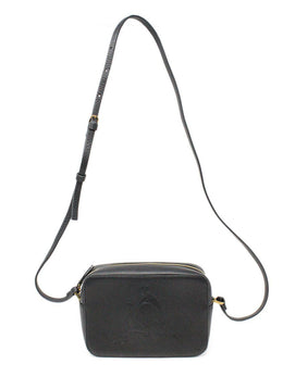 Lanvin Black Leather Crossbody