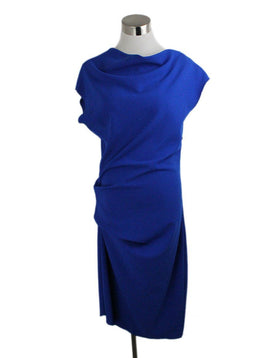 Lanvin Blue Cotton Polyester Dress 1