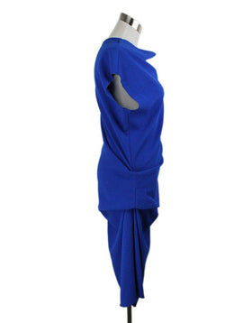Lanvin Blue Cotton Polyester Dress 2